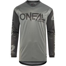 ONeal Threat Langærmet cykeltrøje Herrer grå/sort